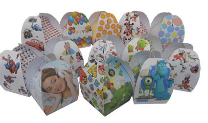 52 Cajas carton