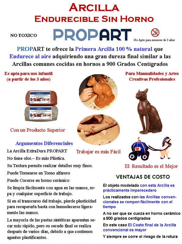 12b Arcillas Sin Horno Propart