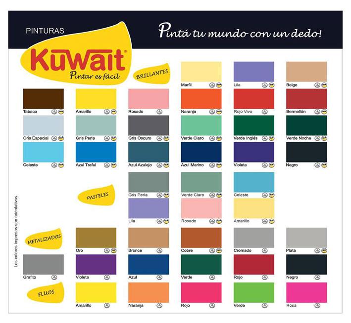 Cartas de colores para interiores top plsticos blancos y for Colore de pintura