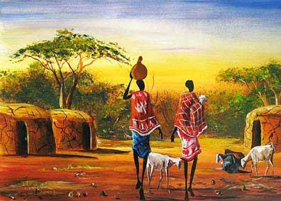 55 decoupage africanas y egipcias for Comprar cuadros bonitos