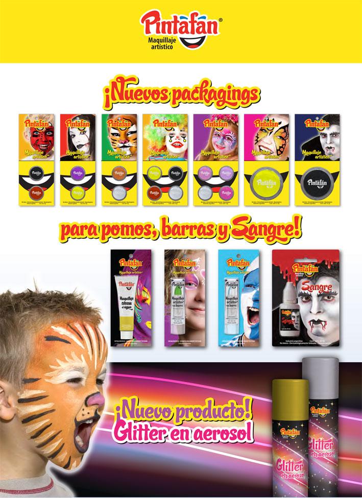 que pintura se usa para maquillaje artistico