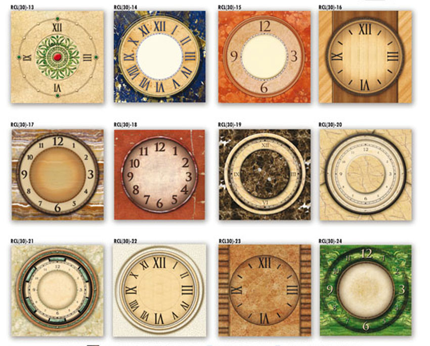 56 01 miguel lucero linea tradicional for Reloj de pared vintage 60cm
