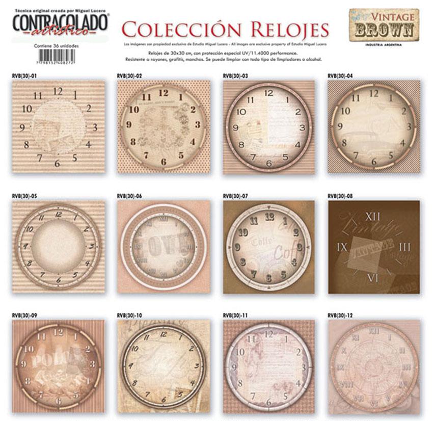 56 10 miguel lucero linea vintage - Relojes grandes de pared vintage ...