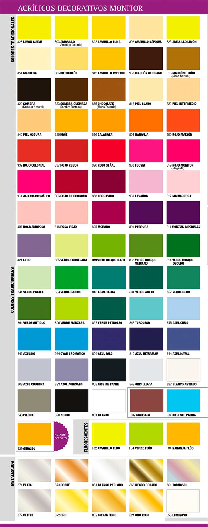 Gama de colores de pintura carta de colores descargas for Gama colores pintura