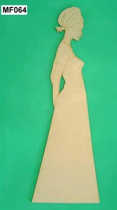 Figuras Africanas en corte laser, 40 cm