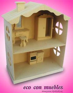 82 8 casas y muebles para barbie - Como hacer muebles para casa de munecas ...